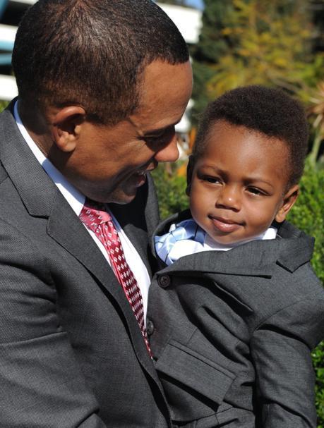 "Hill Harper On Adopting Son, Pierce, ""I Really Felt Like God Was Telling Me To Do It"""
