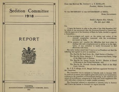 Sedition report of 1918 and remembering the great hero Vanchinathan's sacrifice