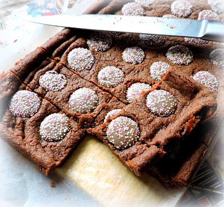 Chocolate Jazzie Slices