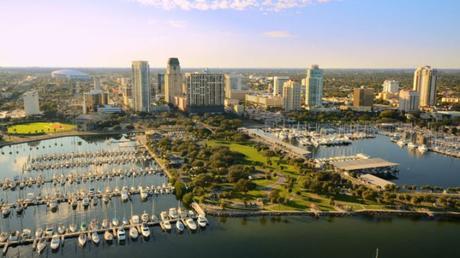 St Petersburg in Florida