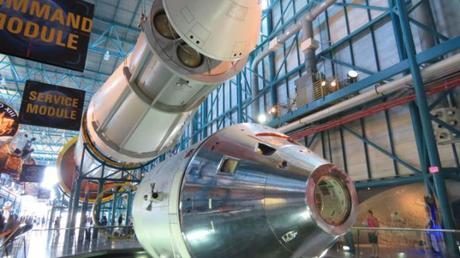 Kennedy Space Center exhibit in Florida