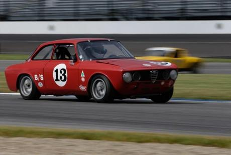 Saturday's Schedule For The Brickyard Vintage Racing Invitational At IMS