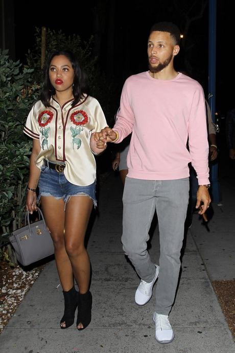 #MarriageGoals Steph Curry & Ayesha Curry Date Night After The Warriors Victory Parade
