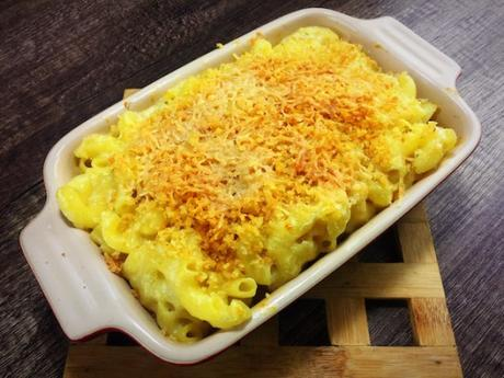 Recipe: Creamy Garlic Parmesan Mac And Cheese
