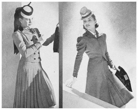 1940s-Fashion---Early-Summer-Suits-1940-d