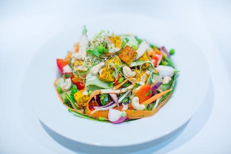 Fitness On Toast Faya Blog Girl Healthy Recipe Tasty Dish Dinner Lunch Salad Idea Cashew Sauce Vegetarian Diet Tofu Instructions-2