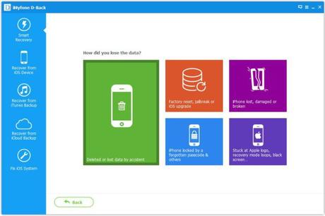 iMyFone D-Back  Review : Data Recovery For Your iOS Data With Ease