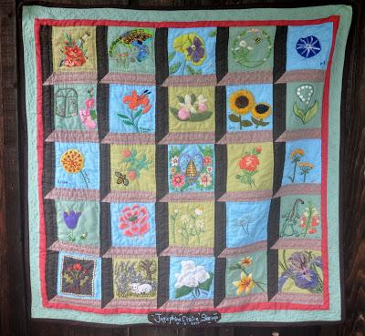 Josie's Flower Window Quilt
