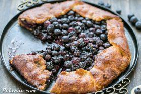 Blueberry Galette (Gluten Free + Paleo)