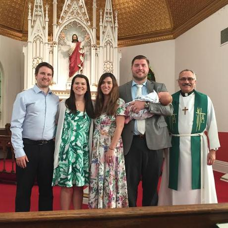 Father's Day/Landon's Baptism
