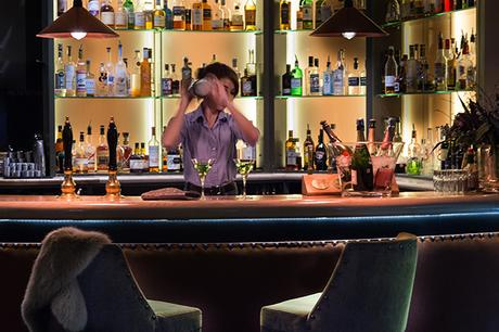 Bar at The Kings Head, Cirencester