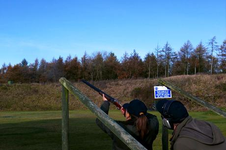 Clay Pigeon Shooting at Ian Colley