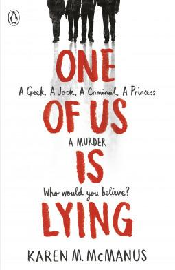 One of Us is Lying by Karen M. McManus #BookReview #YA #Mystery
