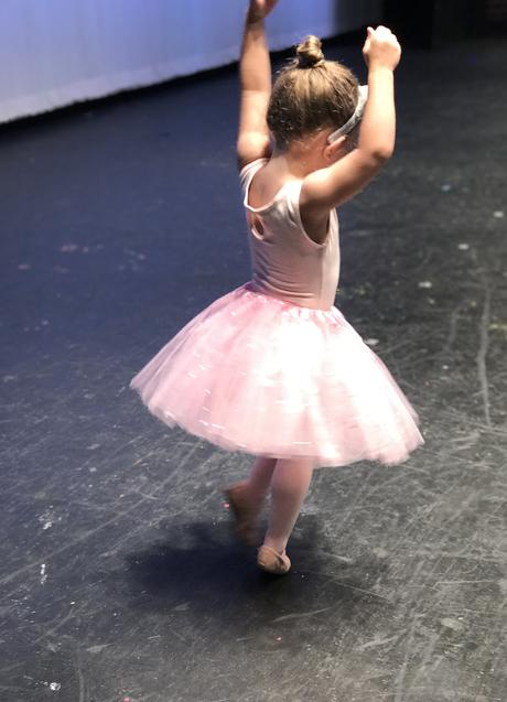 My tiny dancer.
