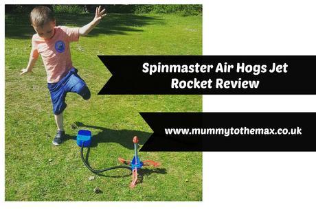 Spinmaster Air Hogs Jet Rocket Review