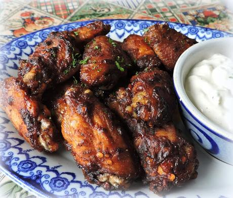 Spicy Chicken Wings & Blue Cheese Dressing