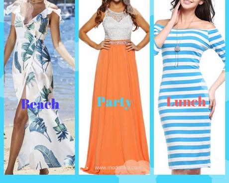 JustFashionNow Designer Boutique Dresses for Holidays/Vacation Trip