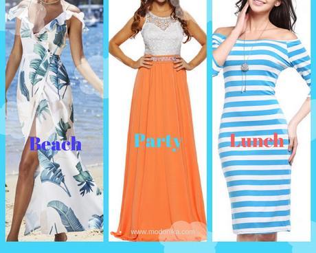 JustFashionNow Designer Boutique Dresses for Holidays/Vacation Trip
