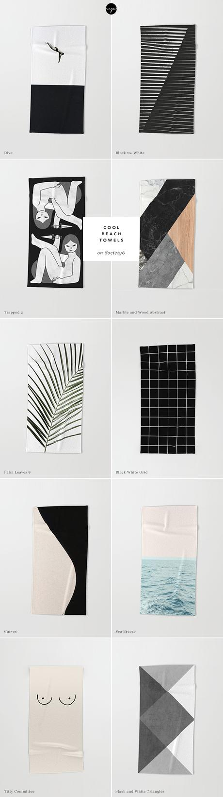 10 cool beach towels for the summer from Society6