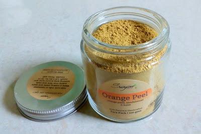 Svayam Natural Orange Peel Pack Review