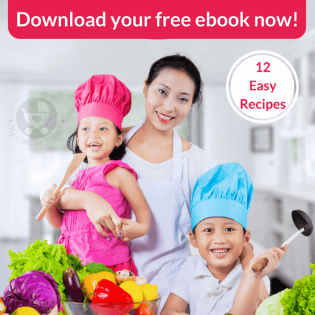 Get a bunch of quick, easy and healthy recipes with our Mum's in the Kitchen free eBook!!