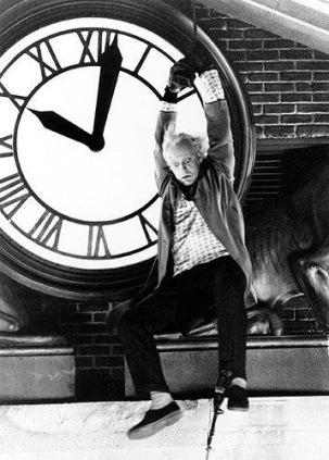 Time Keeps on Slipping…Clocks and Movies