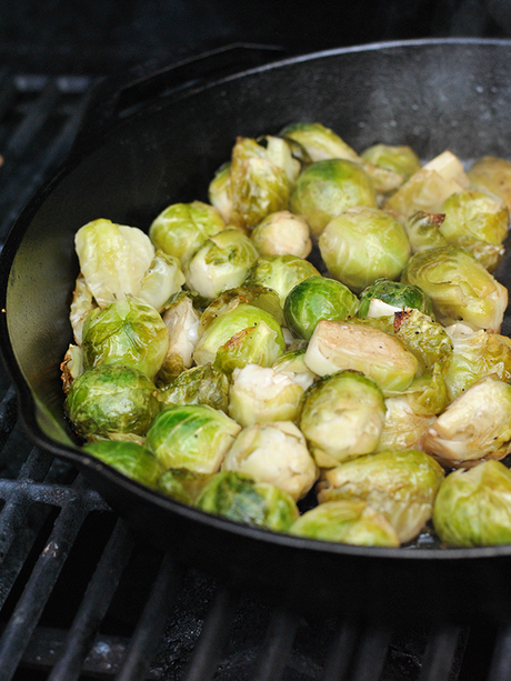 grilled brussles sprouts