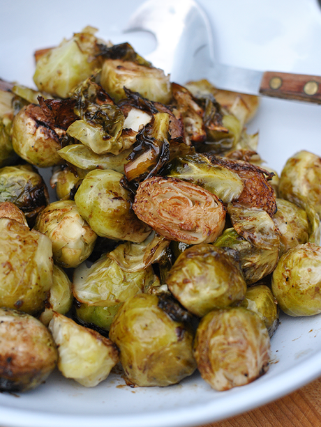 asian style grilled brussles sprouts recipe