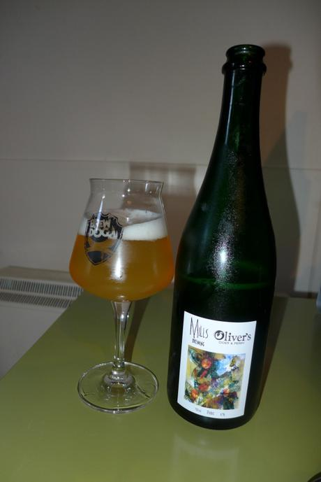 Tasting Notes:  Mill's Brewing: Oliver's Cider and Perry: Foxbic
