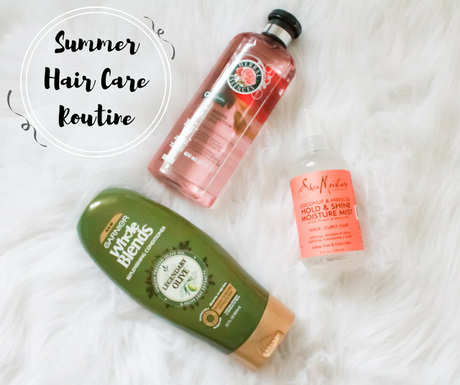 Summer Hair Care Routine