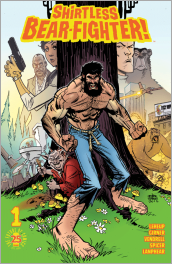 Shirtless Bear-Fighter! #1 Cover