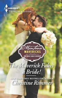The Maverick Fakes a Bride by Christine Rimmer - Feature and Review