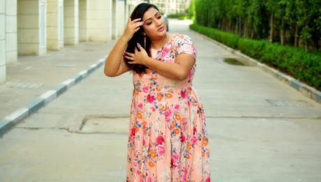 glammegal plus size fashion blogger India