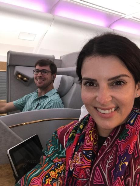 Emirates First Class Review JFK alt=