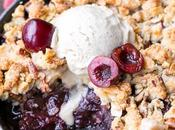 Cherry Crisp (Gluten Free, Paleo Vegan)