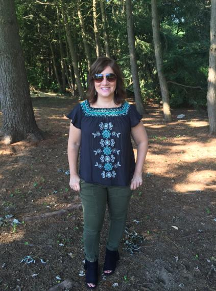 Wednesday Wardrobe – One Pair of Pants + Tops