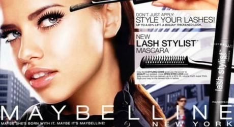 "Maybelline changes its iconic ""Maybe she's born with it"" tagline."