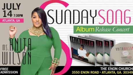 Anita Wilson Sunday Song Album Release Concert Going Down In Atlanta
