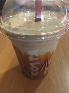Today's Review: Costa Coffee Banoffee Frostino