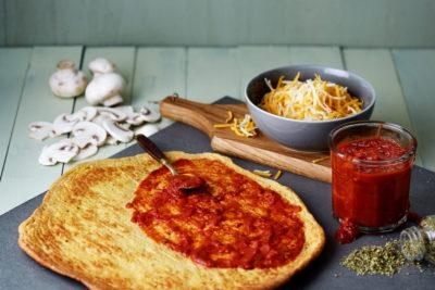 Low-Carb Pizza Crust