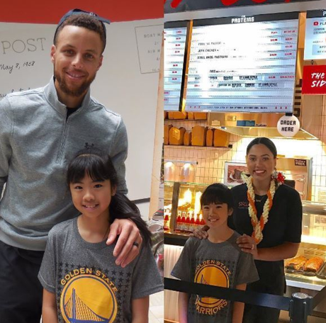 NBA Champion Steph Curry & Wife Ayesha Curry Working Family Vacation In Hawaii