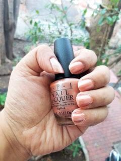 OPI Classic Collection Nail Polish Review+Application