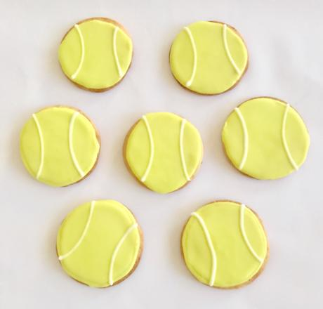 Make This: Tennis Ball Cookies