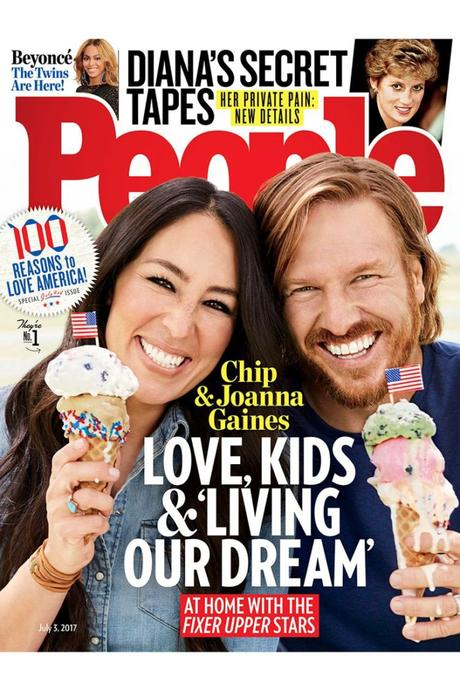 HGTV Star's Chip & Joanna Gaines Inside Their People Magazine Cover