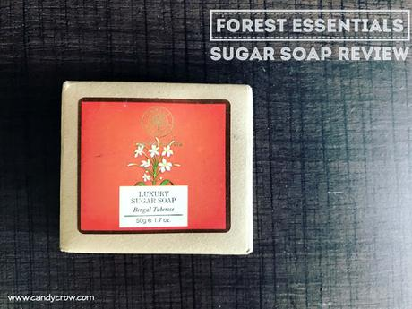 Forest Essentials Sugar Soap Bengal Tuberose Soap Review