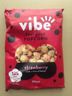 Vibe Feel Good Popcorn Strawberry