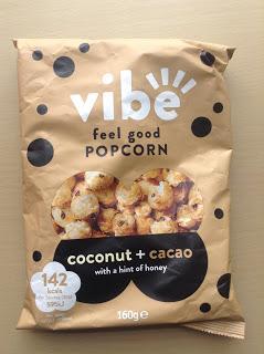Vibe Feel Good Popcorn Coconut & Cacao