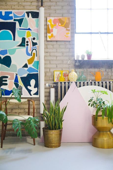 Ashley Mary Art Studio Tour