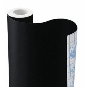Image: Chalkboard Contact Paper, 18 inches x 6 feet - Let's you turn anything into a writing surface