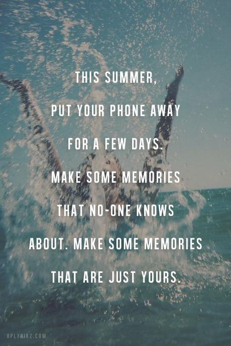 5 Summertime Suggestions For A Better You